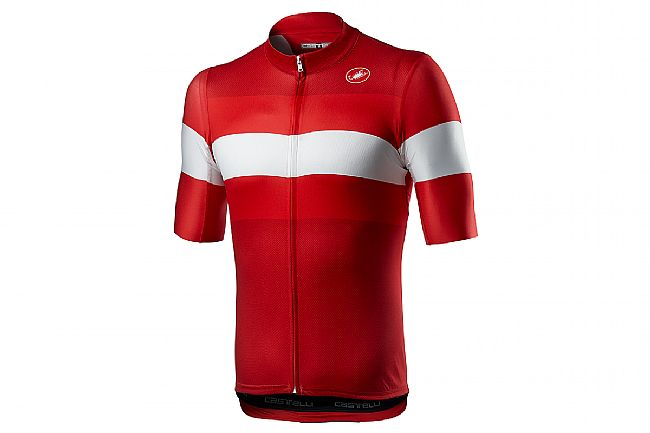 Castelli Mens Lamitica Jersey Red