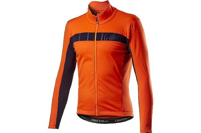 Castelli Mens Mortirolo VI Jacket Orange
