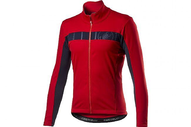 Castelli Mens Mortirolo VI Jacket Red