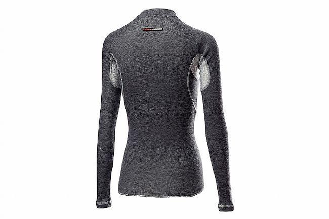 Castelli Womens Flanders 2 Warm Long Sleeve Baselayer Gray