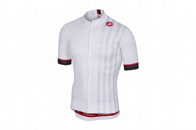 2ce1da561 Castelli Mens Podio Doppio Jersey FZ at BikeTiresDirect