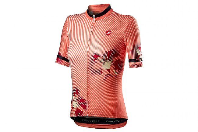 Castelli Womens Primavera Jersey Peach Echo