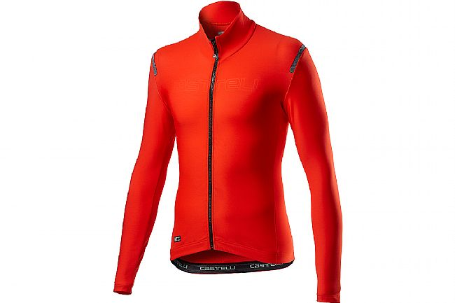 Castelli Mens Tutto Nano RoS Jersey Fiery Red
