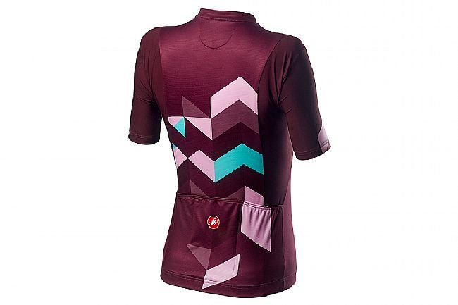 Castelli Womens Unlimited Jersey Sangria