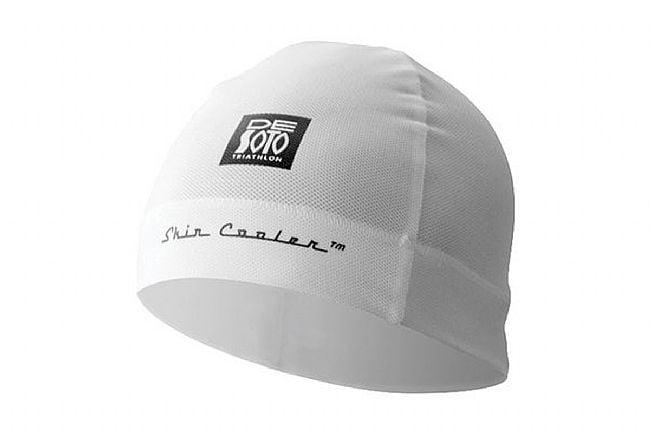 De Soto Skin Cooler Helmet Beanie White