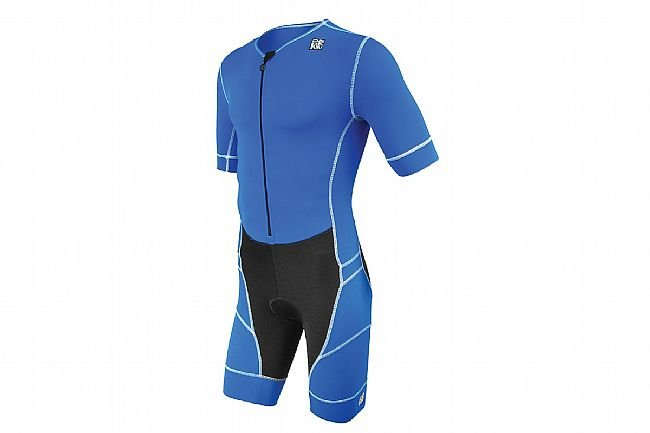 De Soto Mens Mobius Short Sleeve Tri Suit Royal