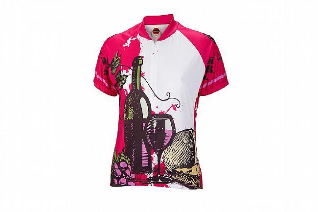 World Jerseys Womens Wine Time Jersey Pink/White