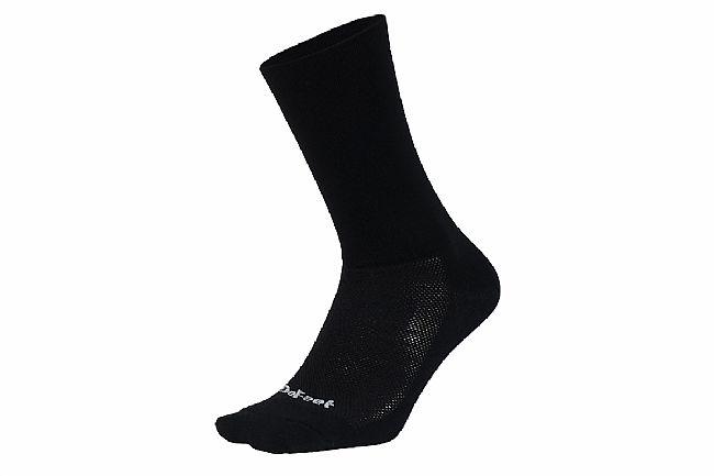 DeFeet Aireator 6 Inch Sock - D-Logo Black