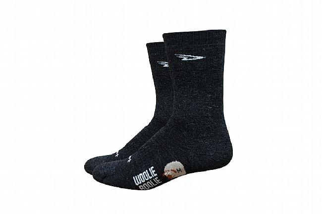 DeFeet Woolie Boolie 6 Inch Sock Charcoal
