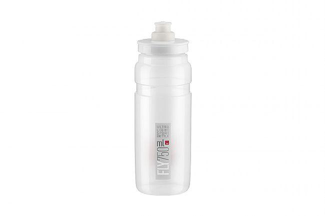 Elite Fly Bottle (750ml) Clear w/ Grey Logo