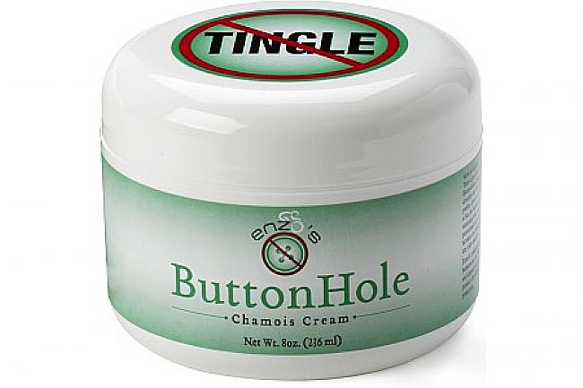 Enzos Cycling Products ButtonHole Chamois Cream No Tingle - 8oz Jar