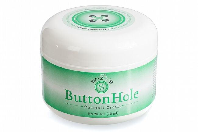 Enzos Cycling Products ButtonHole Chamois Cream Regular - 8oz Jar