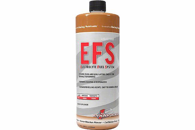 First Endurance EFS Liquid Shot (32oz Bottle) Kona Mocha