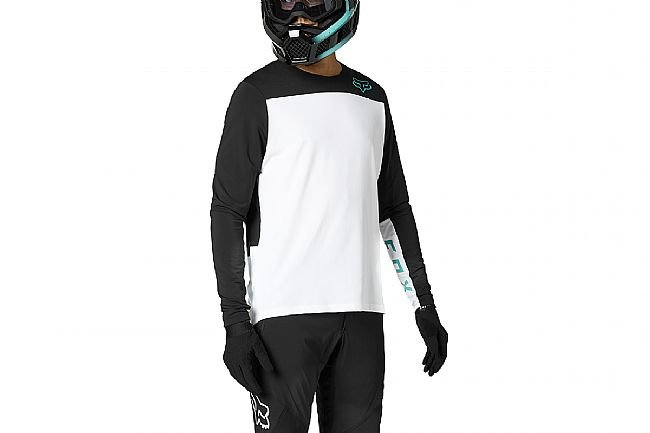 Fox Racing Mens Defend Delta LS Jersey White