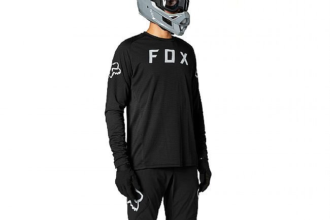 Fox Racing Mens Defend LS Jersey Black