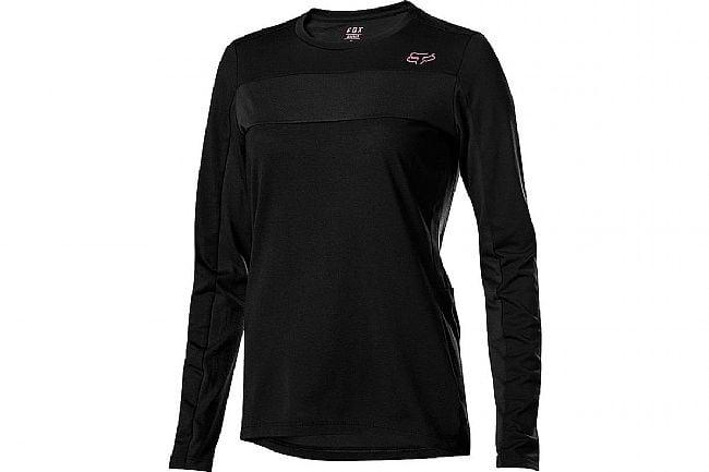 Fox Racing Womens Ranger Drirelease LS Jersey Black