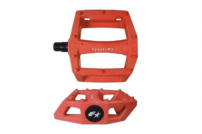 Fyxation Gates Platform Pedals Orange