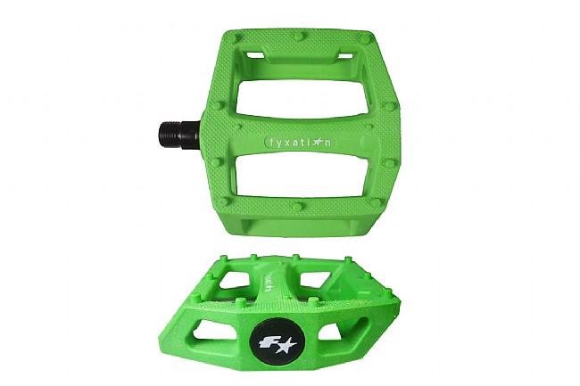 Fyxation Gates Platform Pedals Green