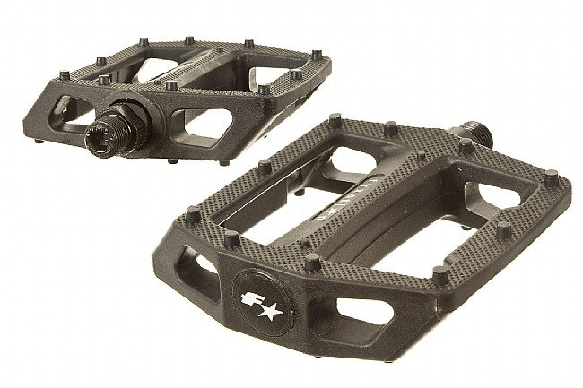 Fyxation Gates Platform Pedals Black