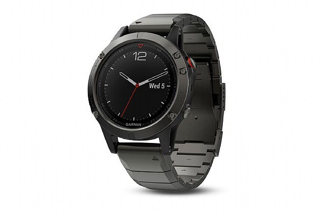 Garmin Fenix 5 Sapphire GPS Watch Slate Gray - Metal Band
