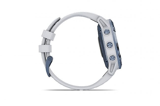 Garmin Fenix 6 Pro Solar Mineral Blue w/Whitestone Band