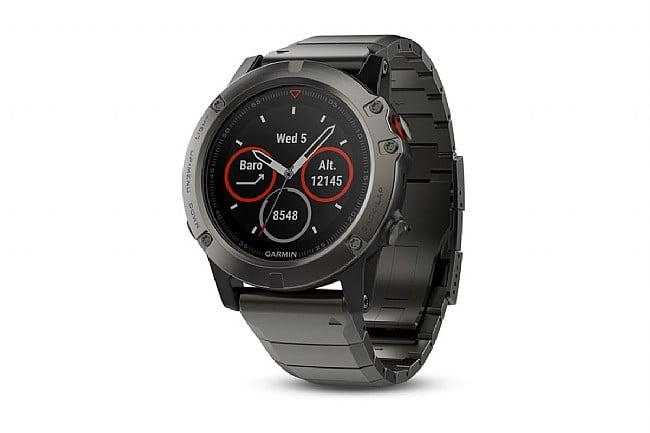 Garmin Fenix 5X Sapphire GPS Watch Slate Gray - Metal Band