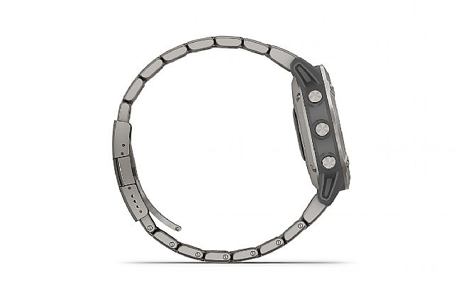 Garmin Fenix 6 Sapphire Titanium w/Vented Titanium Bracelet