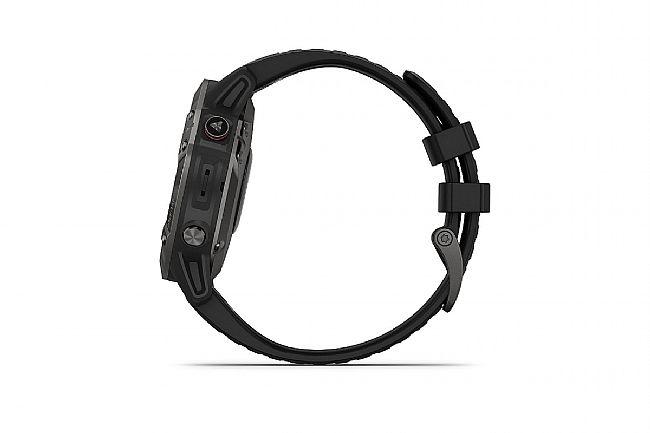 Garmin Fenix 6 Sapphire Carbon Grey DLC w/Black Band