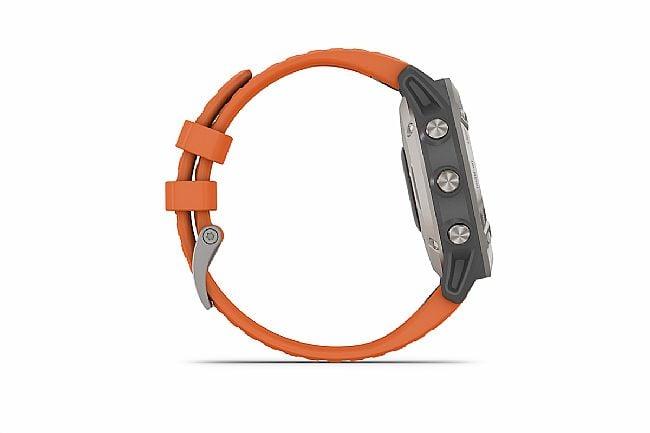 Garmin Fenix 6 Sapphire Ti Gray w/Orange Band