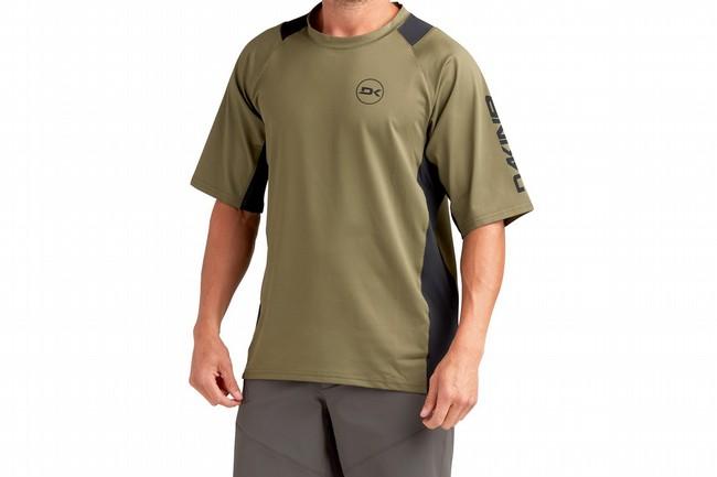 Dakine Mens Vectra Short Sleeve Jersey Olive