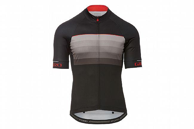 Giro Mens Chrono Expert Jersey Black/Red Horizon