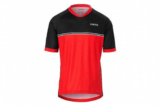 Giro Mens Roust Jersey Bright Red Raceline