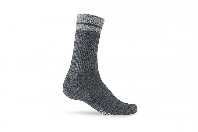 Giro Winter Merino Wool Sock Charcoal/Grey