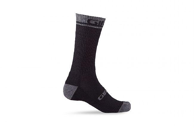 Giro Winter Merino Wool Sock Black/Shadow