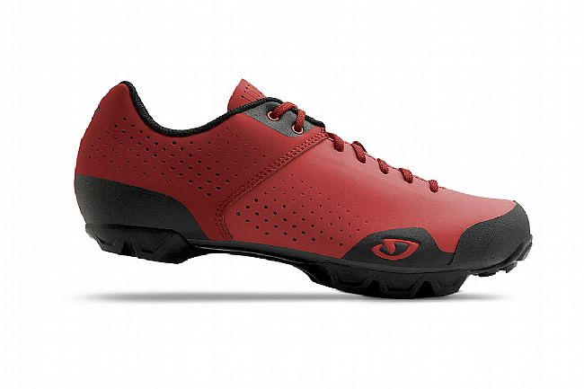Giro Privateer Lace MTB Shoe Bright Red/Dark Red