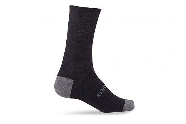 Giro HRC Merino Wool Sock Black Charcoal