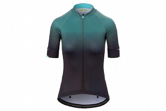 Giro Womens Chrono Expert Jersey  Grey/Green Transition