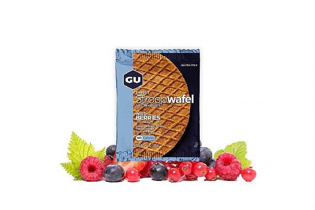 GU Energy Stroopwafel (Box of 16) Wild Berries (GF)