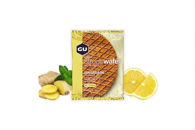 GU Energy Stroopwafel (Box of 16) Gingerade
