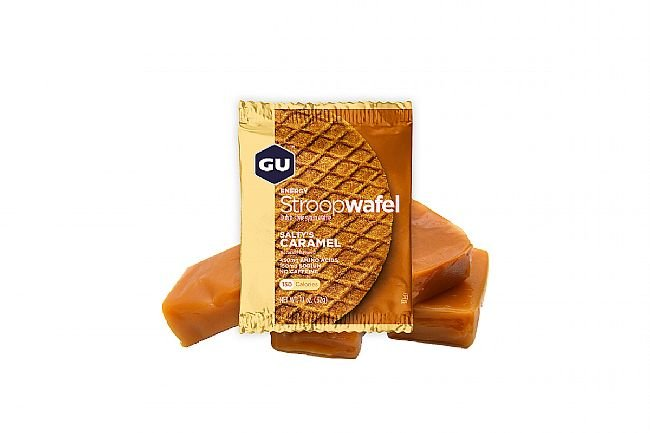 GU Energy Stroopwafel (Box of 16) Salty Caramel