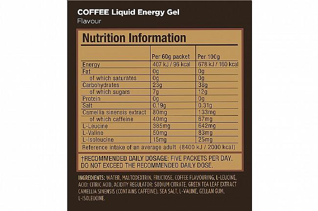 GU Liquid Energy Gel (Box of 12) Coffee