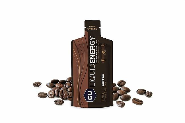 GU Liquid Energy Gel (Box of 12) Coffee (40mg Caffeine)