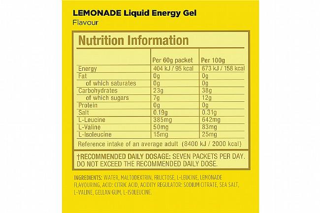 GU Liquid Energy Gel (Box of 12) Lemonade