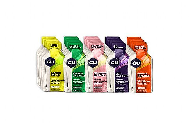 GU Energy Gels (Mixed Box of 24) Mixed Fruity Gels