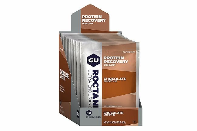 GU Roctane Protein Recovery (Box of 10) Chocolate Smoothie