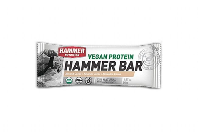 Hammer Nutrition Vegan Protein Bar (Box of 12) Almond Cacao