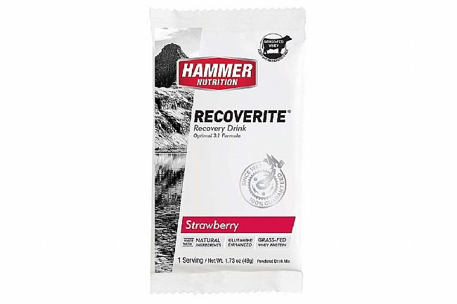 Hammer Nutrition Recoverite (Box of 12) Strawberry