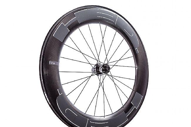 HED Jet 9 Plus Black Clincher Rear Wheel Shimano 11spd