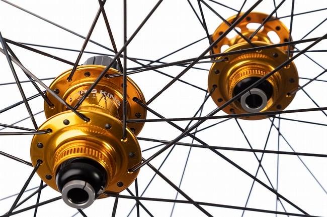 HED Belgium G Chris King LTD Disc Wheelset Gold