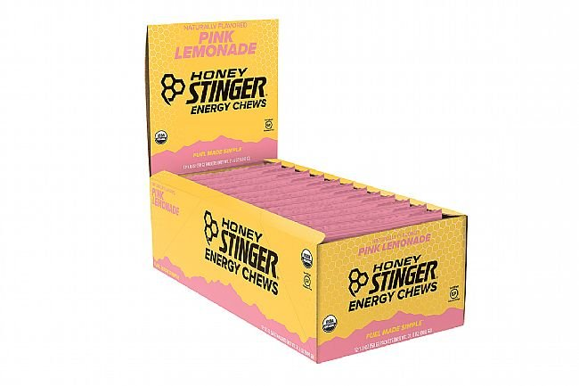 Honey Stinger Organic Energy Chews (Box of 12) Pink Lemonade